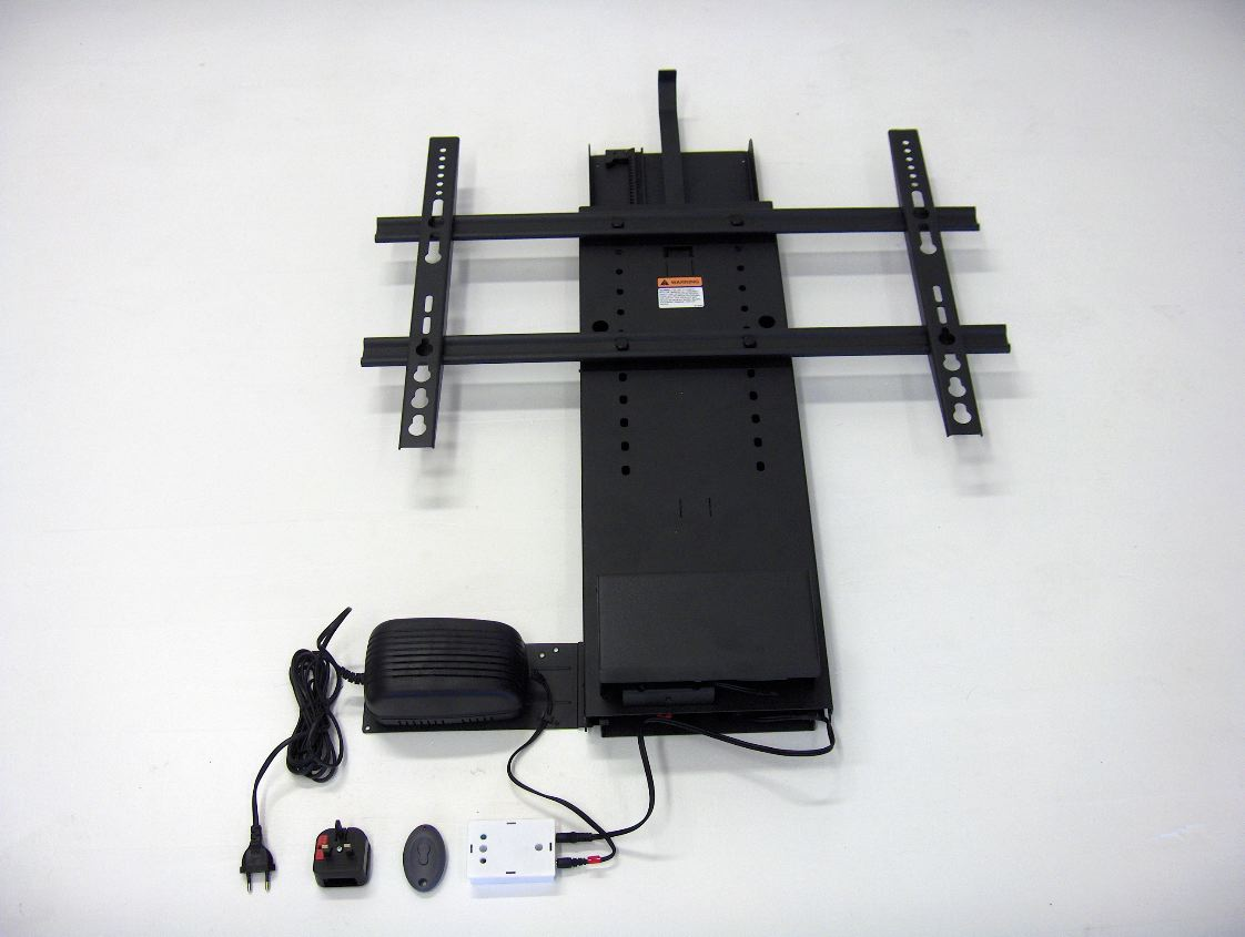 Venset TS 750 Electric remote control TV lift for cabinet and ...